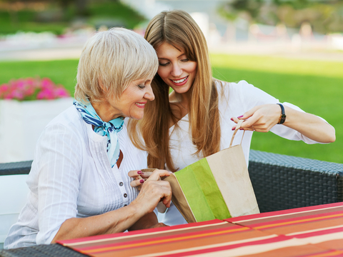 http://www.dreamstime.com/royalty-free-stock-photos-mother-daughter-adult-considering-buying-shopping-sitting-cafe-outside-image33350208