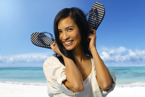 http://www.dreamstime.com/stock-photography-attractive-asian-girl-coastline-image38224612